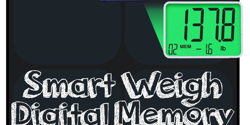 Smart Weigh Digital Memory Scale