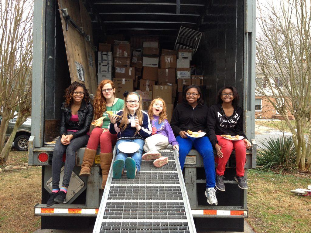 Moving Day, Williamsburg VA