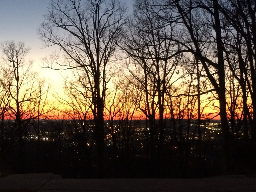 Sunset on Monte Sano Mountain