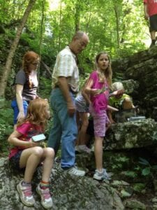 Geocaching on Monte Sano