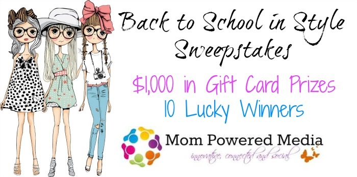 Back to School in Style Sweepstakes [Giveaway]