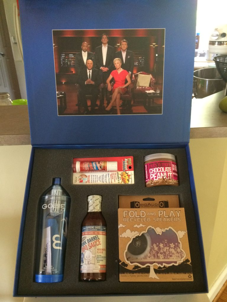 Shark Tank Swag Box
