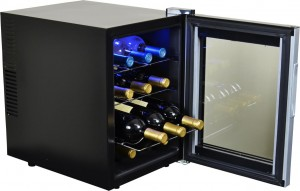 Avalon Bay AB-WINE12S 12 Bottle Single Zone Thermoelectric Wine Cooler