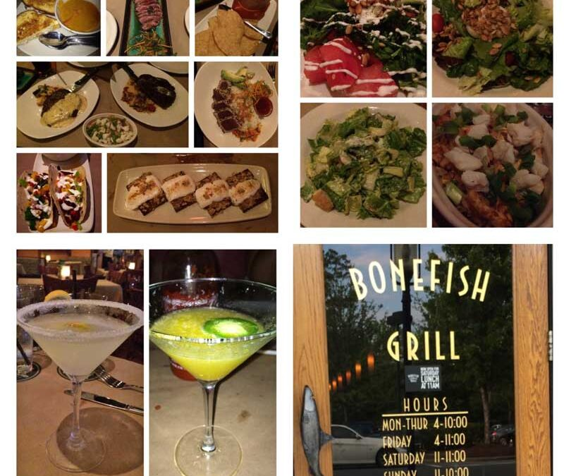 Food, Friends and Fun at the Bonefish Grill #HelloNewMenu [review]