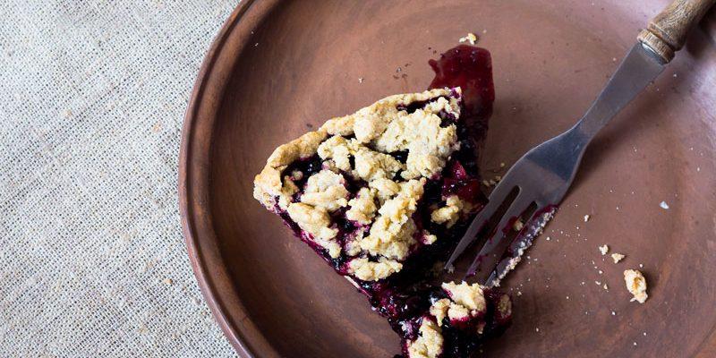 Triple Berry Pie Crumble