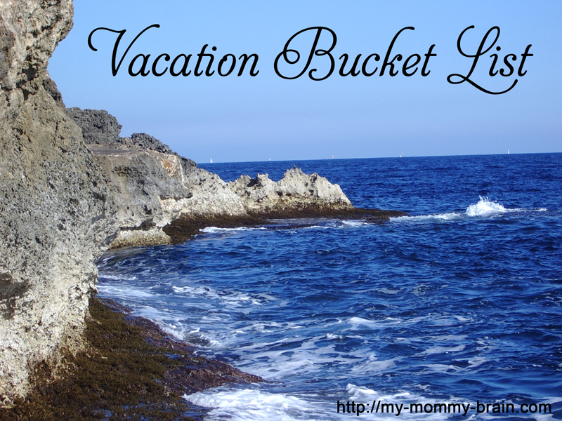 What's on Your Vacation Bucket List?