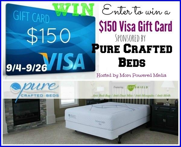 $150 Visa Gift Card Giveaway
