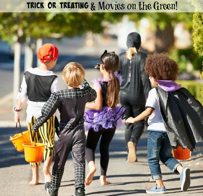 Free Portraits, Movies on the Green and Trick 'r Treat Family Event on October 24th at Promenade on Providence Shopping Center [Charlotte event & Giveaway]