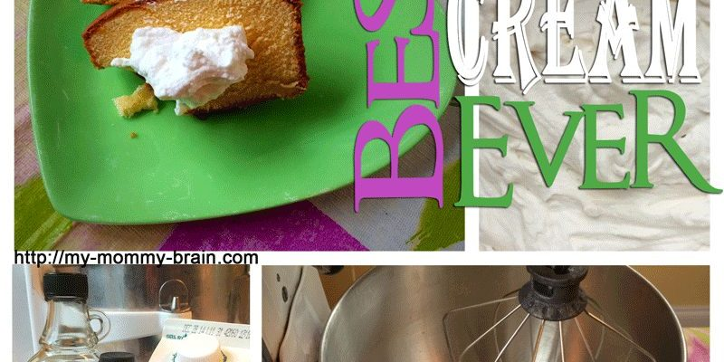How to Make The Best Whipped Cream Ever