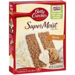 Betty Crocker Supermoist Spice Cake Mix