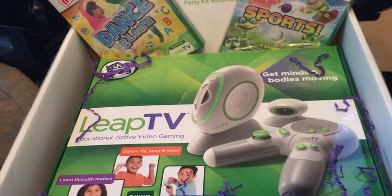 Leap into Gaming with LeapTV: Hot Holiday Gift for the 3 to 8 Year Old Set