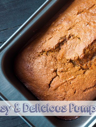 Super Easy & Delicious Pumpkin Bread