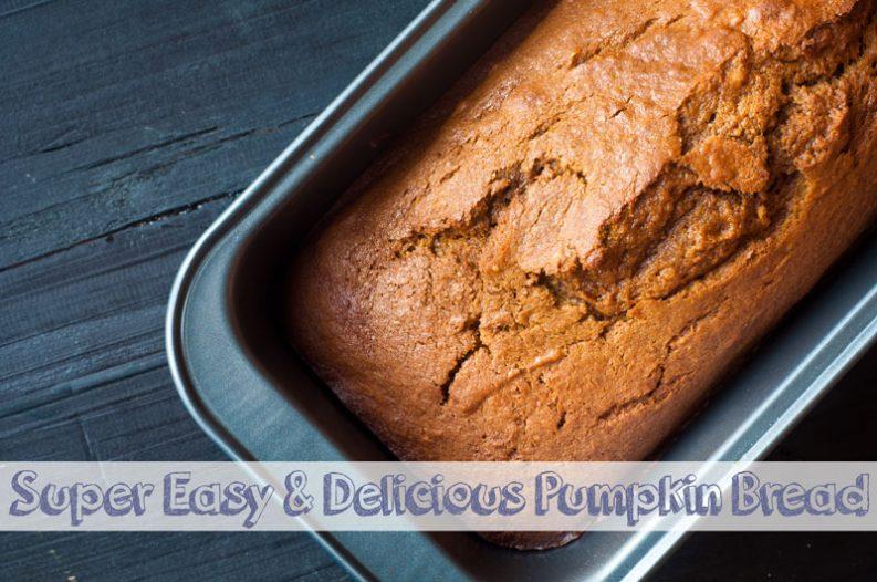 Super Easy & Delicious Pumpkin Bread