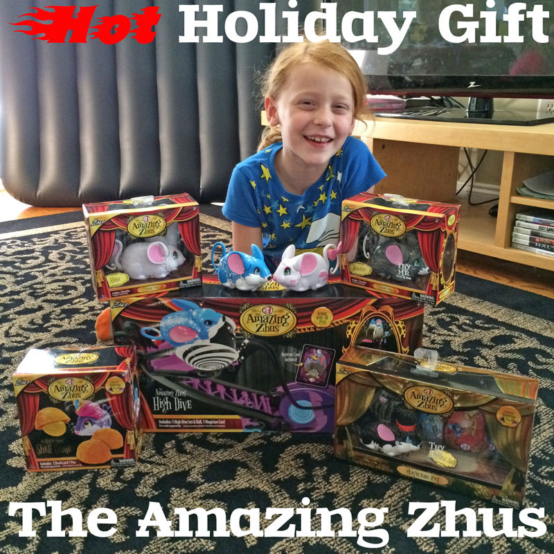 Hot Holiday Gift: The Amazing Zhus