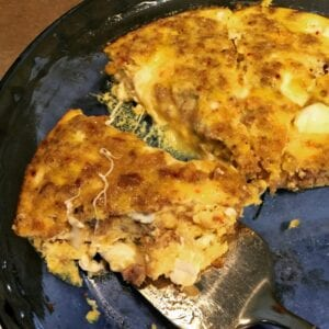 Tasty Tuesday – Fresh Mozzarella and Sausage Frittata [recipe]