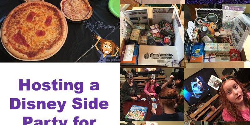 Hosting a #DisneySide Party for Children of All Ages