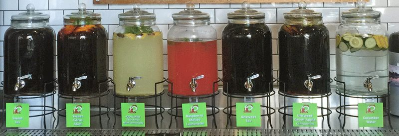 F2O drink bar - fine. food. fast. - Fresh to Order now open in Charlotte