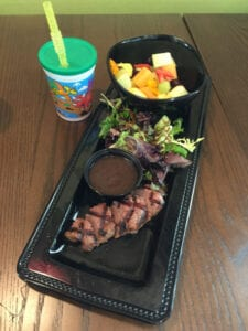 F2O Grilled Steak Medallion kids meal - fine. food. fast. - Fresh to Order now open in Charlotte