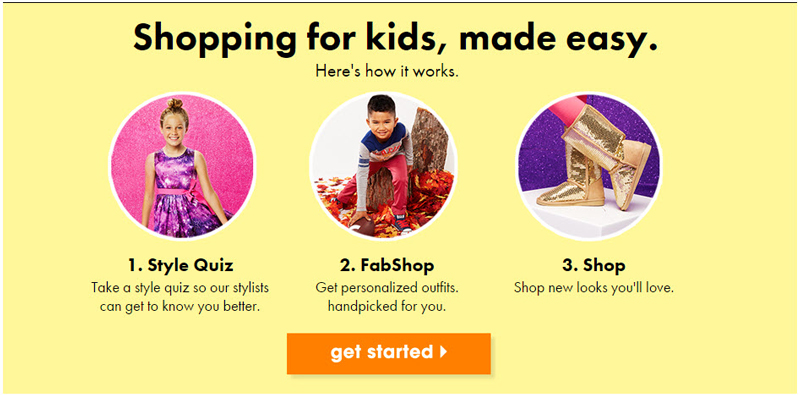 get started with FabKids
