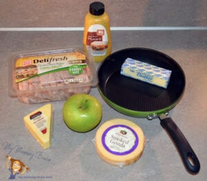 Ingredients : Tasty Tuesday – Incredible Inside Out Grilled Cheese