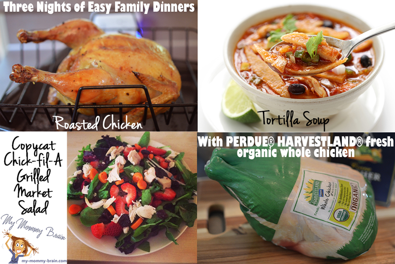 Tasty Tuesday: Three Nights of Easy Family Dinners With PERDUE® HARVESTLAND® fresh organic whole chicken