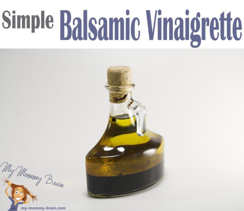 Simple Balsamic Vinaigrette