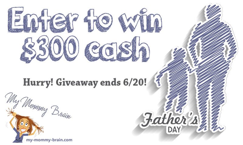 $300 Father's Day Giveaway