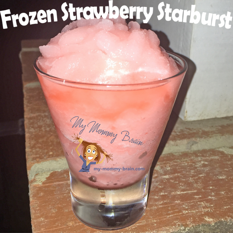 Thirsty Thursday - Frozen Strawberry Starburst