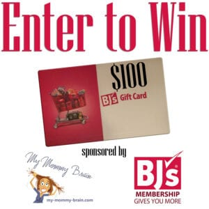 Enter to win a $100 BJ's Wholesale Club Gift Card