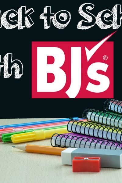 Back to School with BJ's Wholesale Club