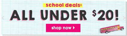 FabKids School Deals Under $20