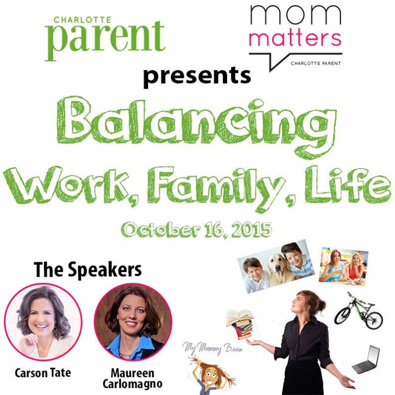 Mom Matters: Balancing Work, Family, Life