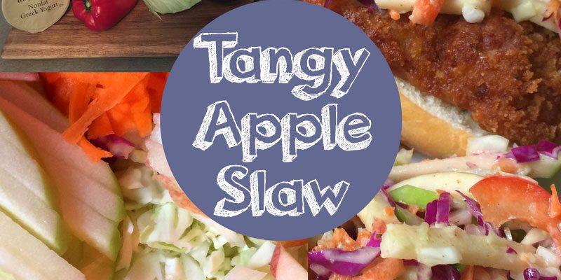 Tasty Tuesday – Tangy Apple Slaw