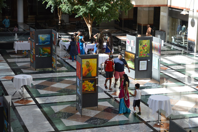 Festival of India - Founders Hall Art Exhibit