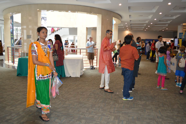 Festival of India main floor