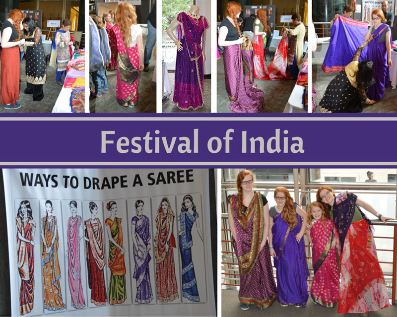 Charlotte's Got a Lot – Festival of India