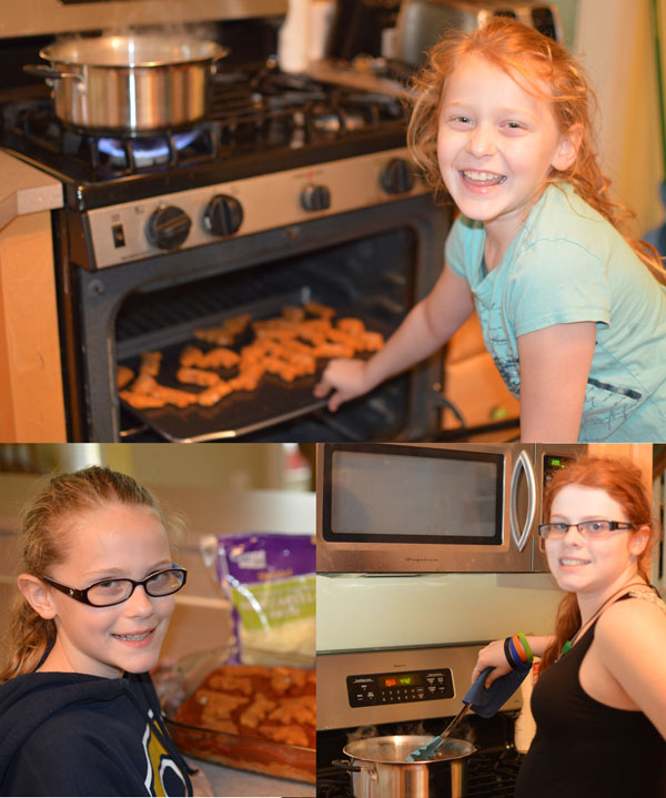 kids-cooking #ad Quick & Easy Tyson® Chicken Nugget Parm