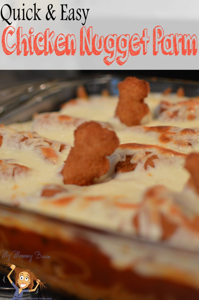 #ad Quick & Easy Tyson® Chicken Nugget Parm #TysonMovieOffer