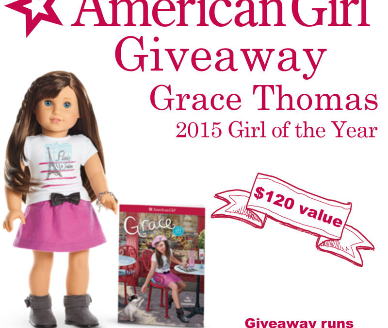 American Girl Doll Giveaway – Grace 2015 Girl of the Year