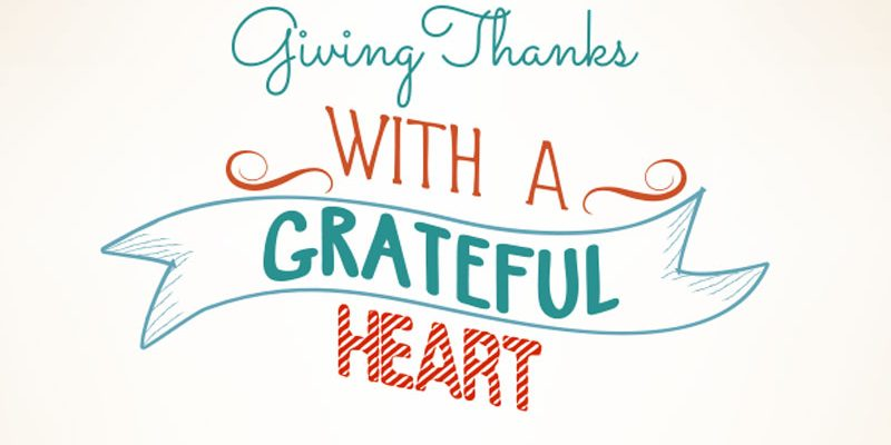 Giving Thanks with a Grateful Heart