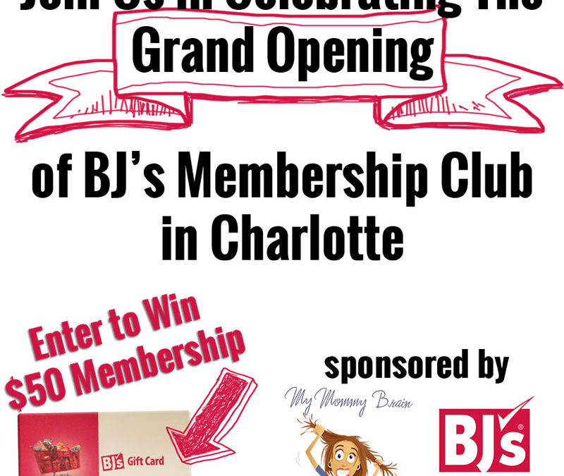 BJ's Membership Club to Open New Location in Charlotte, NC [giveaway]