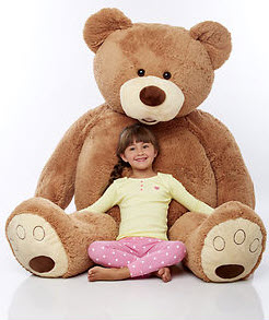 Giant Plush Bear: This BJ's Exclusive brings soft, cuddly fun to kids of all ages.  In-Club or BJs.com (Delivered). BJ's Everyday Low Price