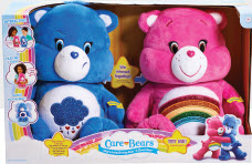 Care Bears Sing-a-Long: A BJ's Exclusive Bundle two-pack that magically talk, sing and dance with each other.  Ages 3 Years+; In-Club Only. $49.99