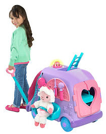 Doc McStuffins Get Better Talking Mobile Everything kids need for toy checkups on the go. Ages 3 Years+; In-Club or BJs.com. $34.99