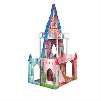 Princess and Ice Castle Dollhouse: A BJ's Exclusive, this imaginative dollhouse is built for hours of fun with three floors of double-sided play and stands almost 4′ high.  Ages 3 Years+; In-Club or BJs.com (In Store Only). $39.99