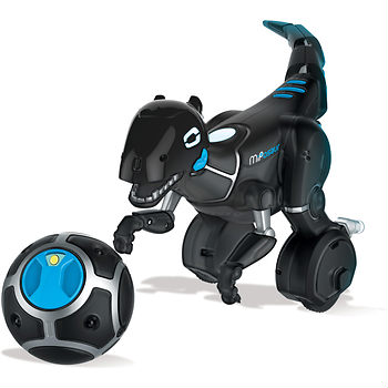Miposaur with BONUS Recharge Kit: Play with a dino robot that responds to you by his trackball, an app or your hands. Ages 8 Years+; In-Club or BJs.com (Delivered). $119.99
