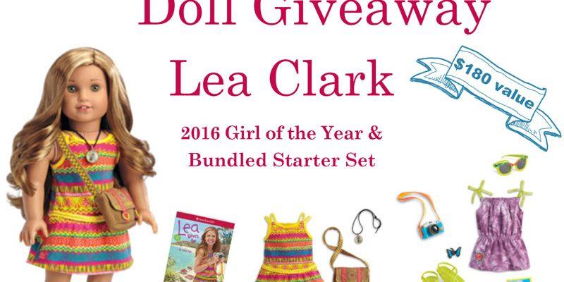 2016 American Girl Doll Giveaway Lea Clark