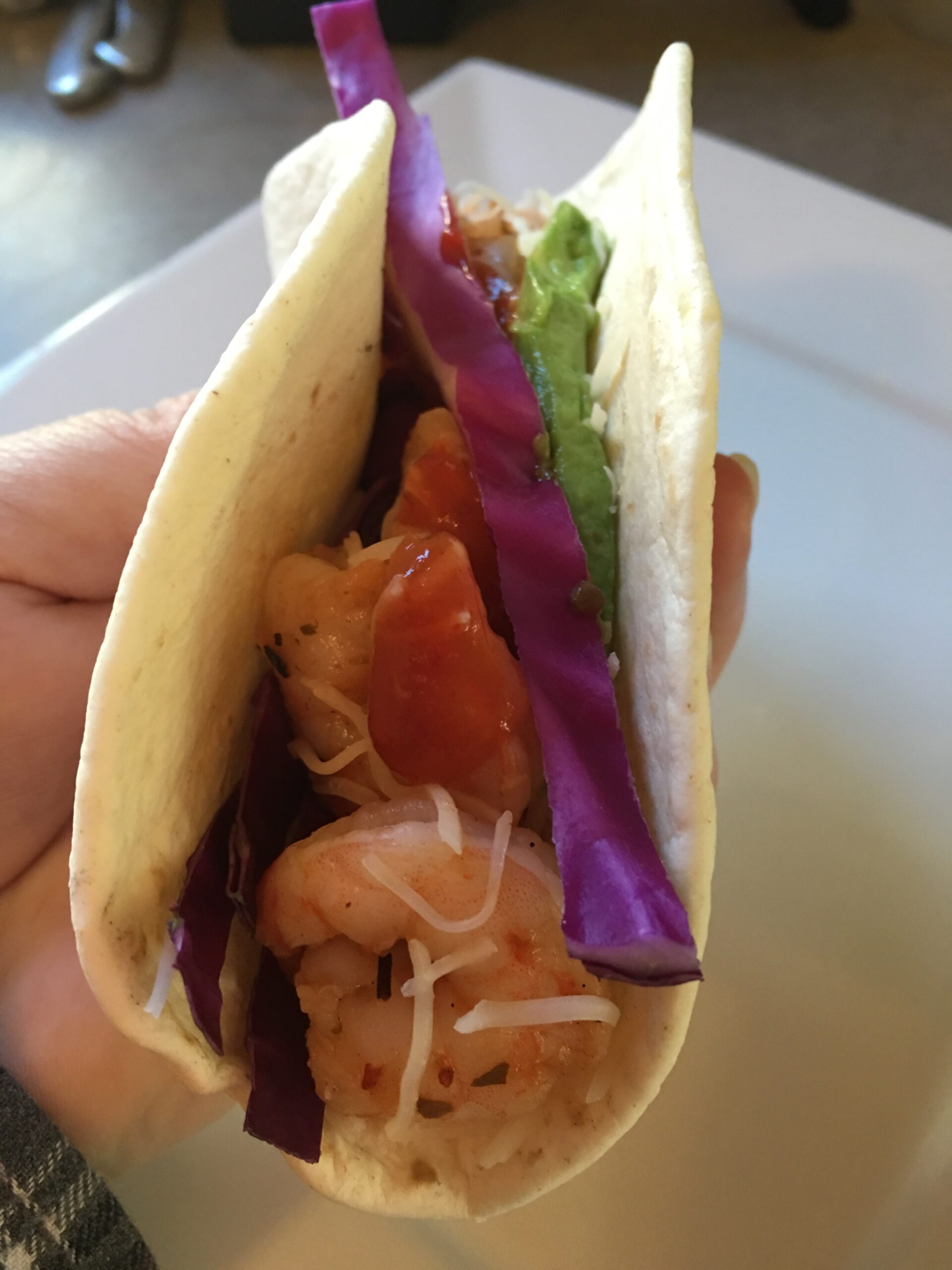 Dinner in a Snap - Shrimp Tacos