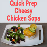 Cheesy Chicken Sopa