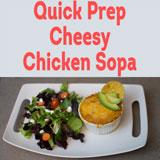Cheesy Chicken Sopa